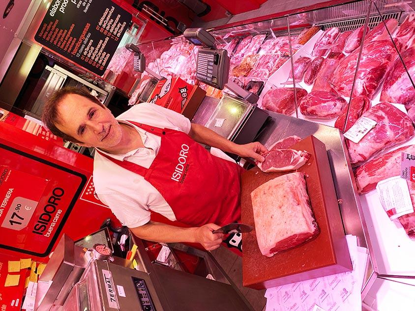 Isidoro carnicería con profesionales